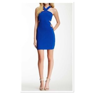 WOW Couture Blue Bandage Dress - NWT